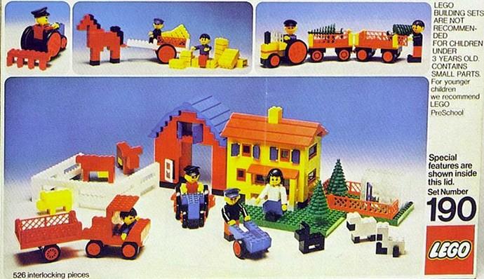 190-1: Farm Set | Brickset: LEGO set guide and database