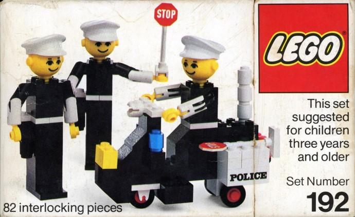 Изображение набора Лего 192 Policemen