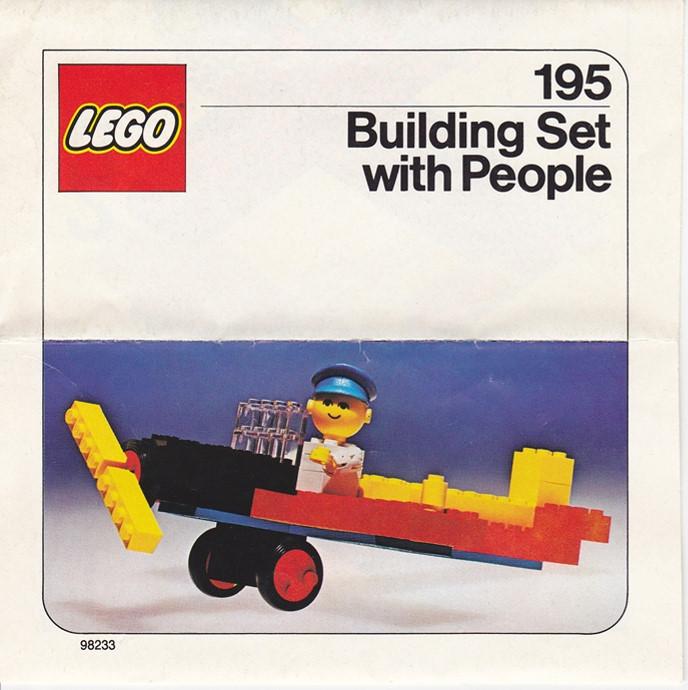 Изображение набора Лего 195 Airplane