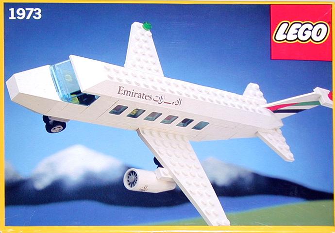 Изображение набора Лего 1973 Emirates Airliner