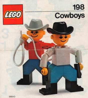Изображение набора Лего 198 Cowboys