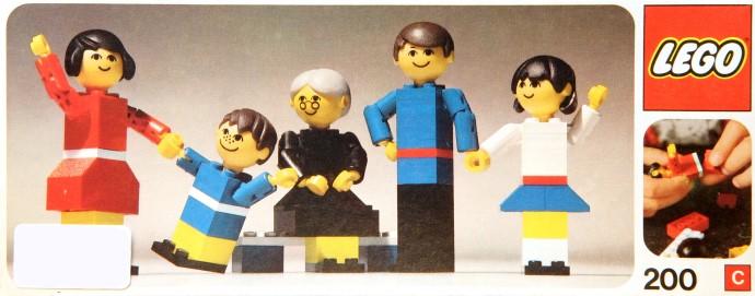 Изображение набора Лего 200 LEGO Family
