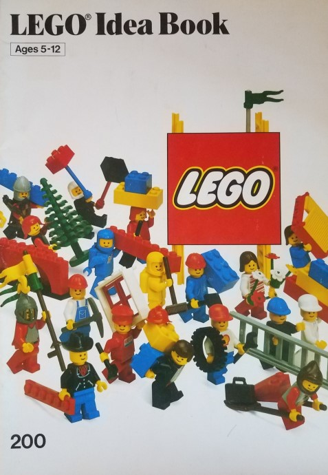 Lego 200 Building Ideas Book image