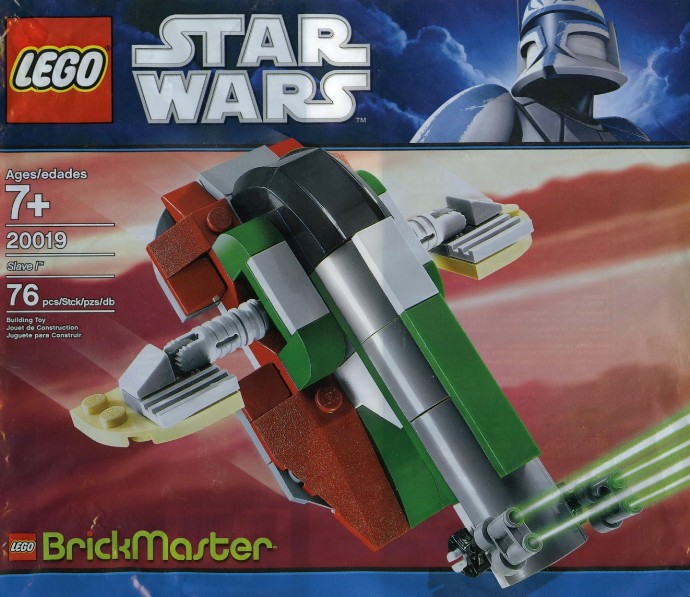 20019 1 Slave I Brickset Lego Set Guide And Database