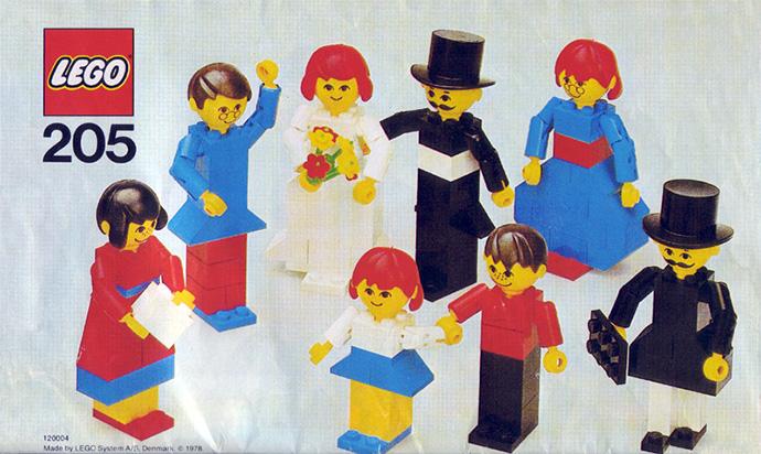 Изображение набора Лего 205 People Set