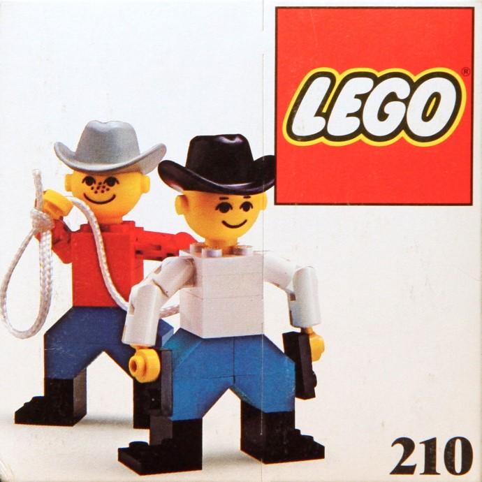 Изображение набора Лего 210 Cowboys