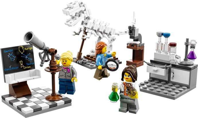 LEGO Research Institute female set review