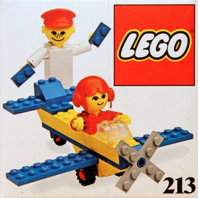 Lego 213 Airplane ride image