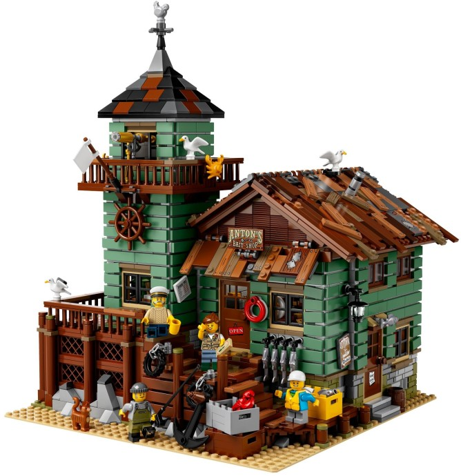 Review: 21310 Old Fishing Store | Brickset: LEGO set guide and ...
