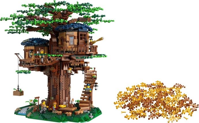 21318 Tree House revealed in LEGOLAND Discovery Centre!