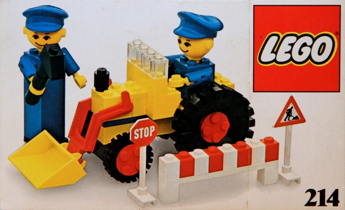 Lego 214 Road repair crew image