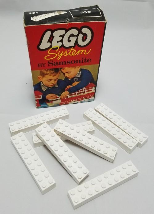 Изображение набора Лего 216 2 X 10 Bricks