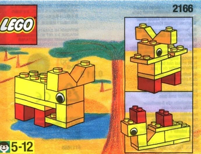 Изображение набора Лего 2166 Elephant