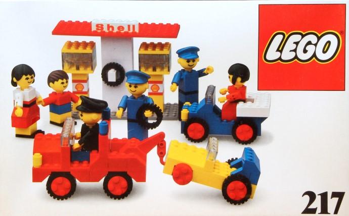 Lego 217 Service Station image