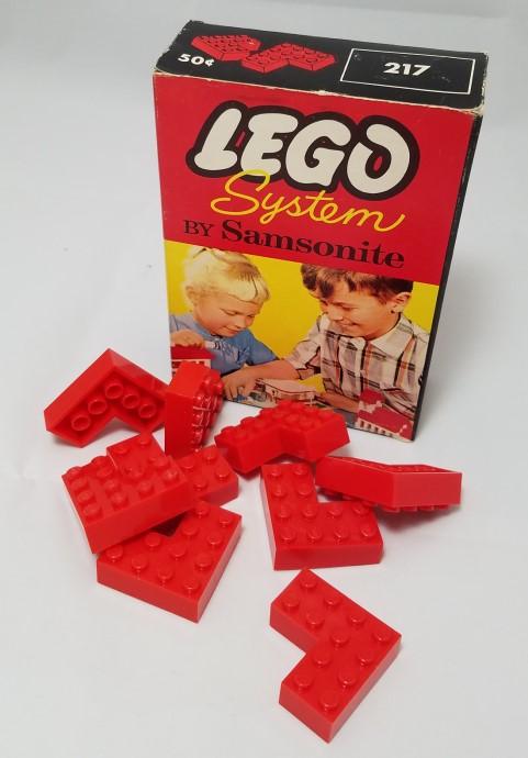 Lego 217 4 x 4 Corner Bricks image