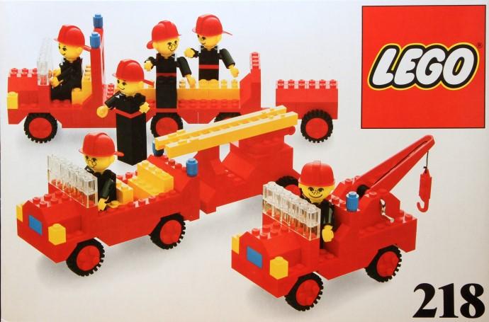 Изображение набора Лего 218 Firemen