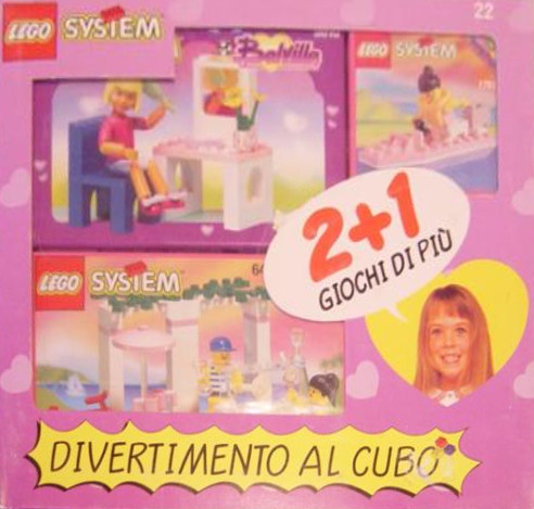 Изображение набора Лего 22 Value Pack Italy