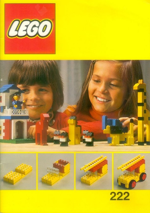 Lego 222 Building Ideas Book image