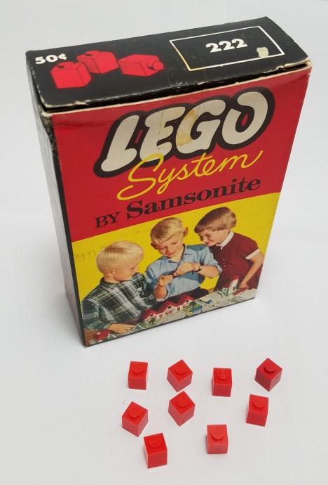 Изображение набора Лего 222 1 x 1 Bricks