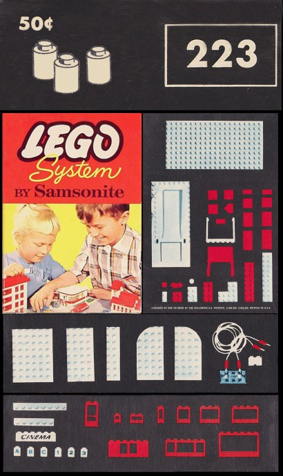 Lego 223 1 x 1 Round Bricks image