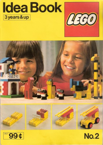 Lego 225 Building Ideas Book No. 2 image