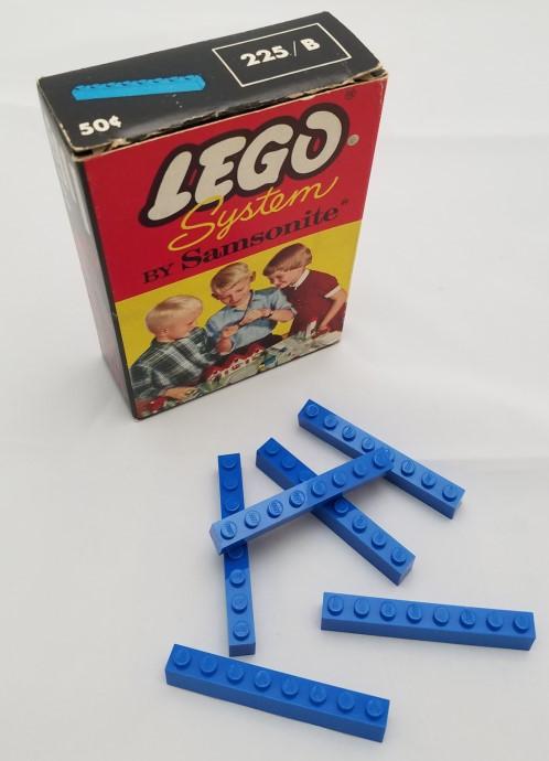Изображение набора Лего 225_B 1 x 8 Beams