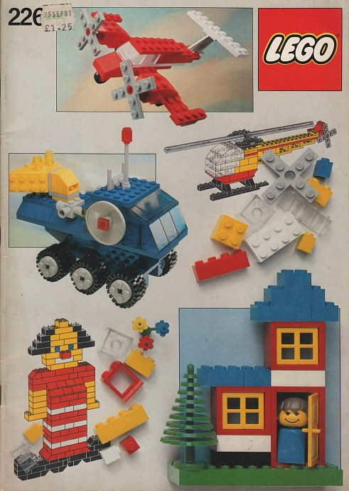 Lego 226 Building Ideas Book image