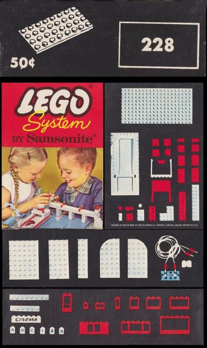 Lego 228 4 X 8 Plates image