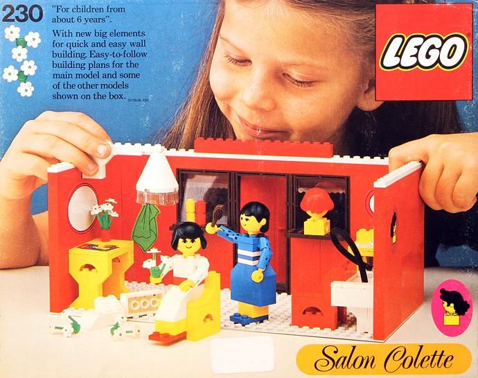 Изображение набора Лего 230 Hairdressing Salon