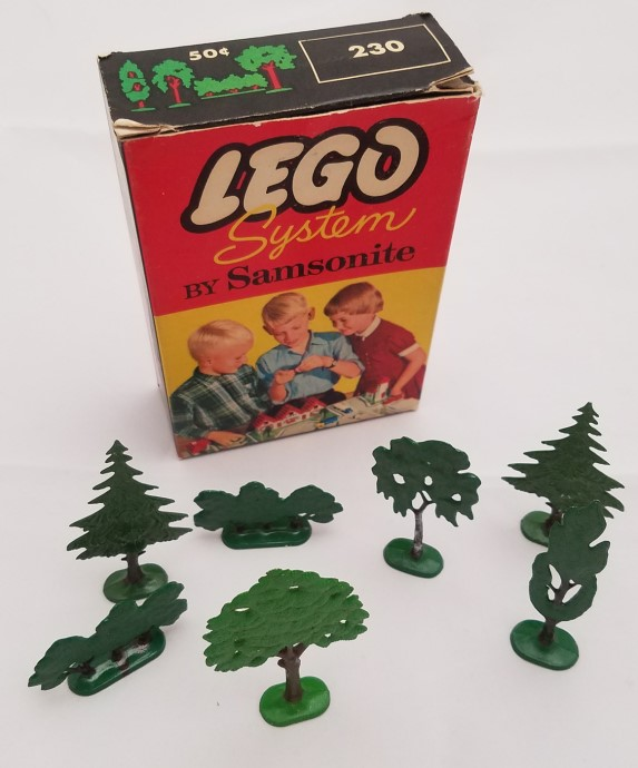 Lego 230 Trees and Bushes image