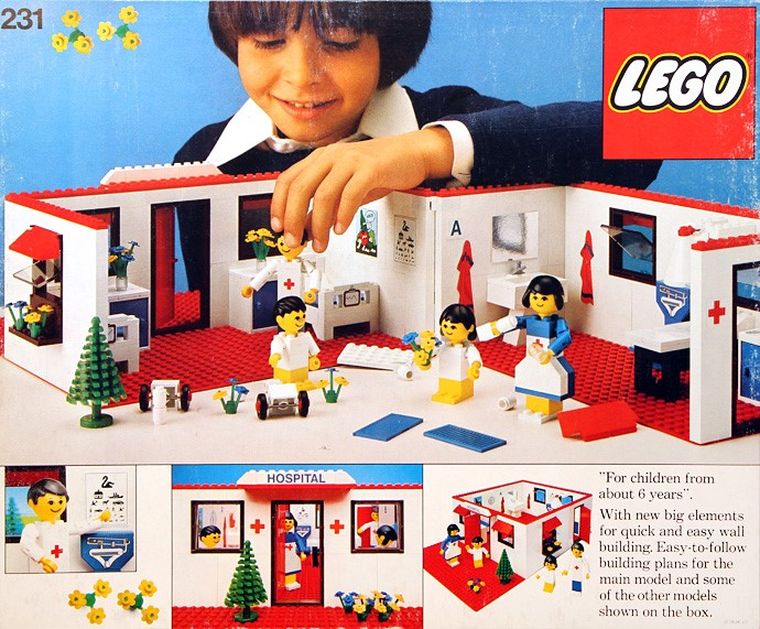 Изображение набора Лего 231 Hospital