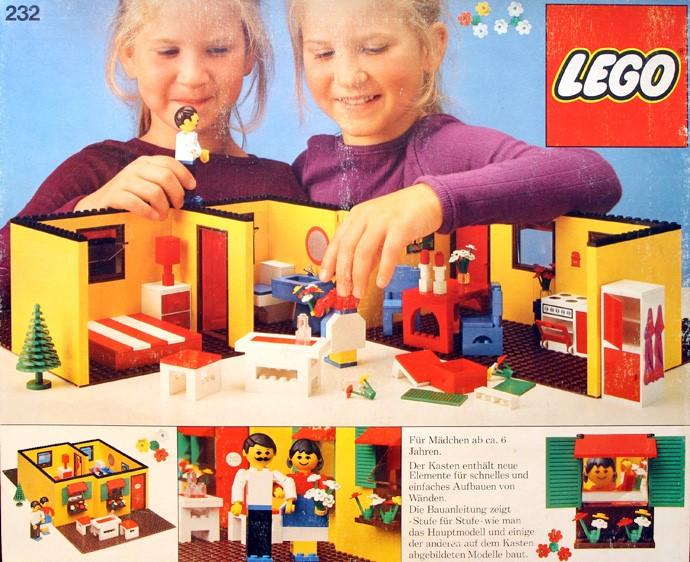 Изображение набора Лего 232 Bungalow
