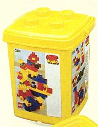 Изображение набора Лего 2381 Bucket of Bricks