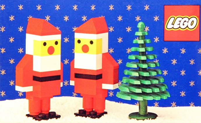 Lego 245 Two Santas image