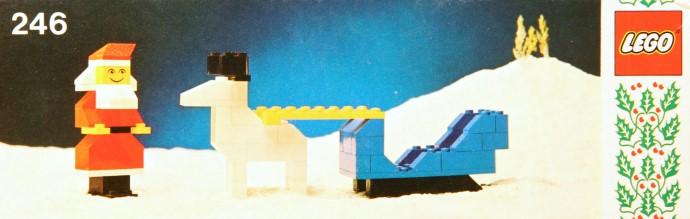 Lego 246 Santa and Sleigh image