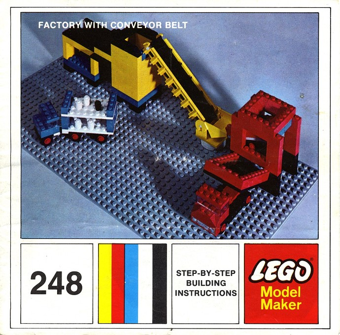 Lego 248 Factory with Conveyor Belt image