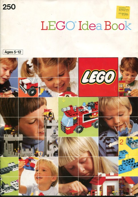 Lego 250 Building Ideas Book image