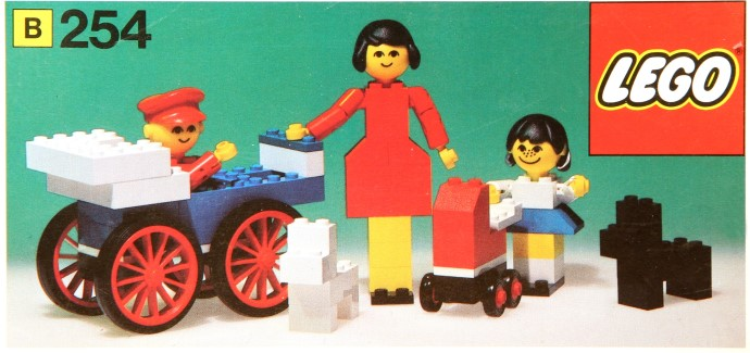 Изображение набора Лего 254 Family