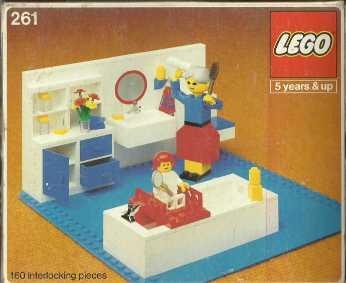 Lego 261 Bathroom image