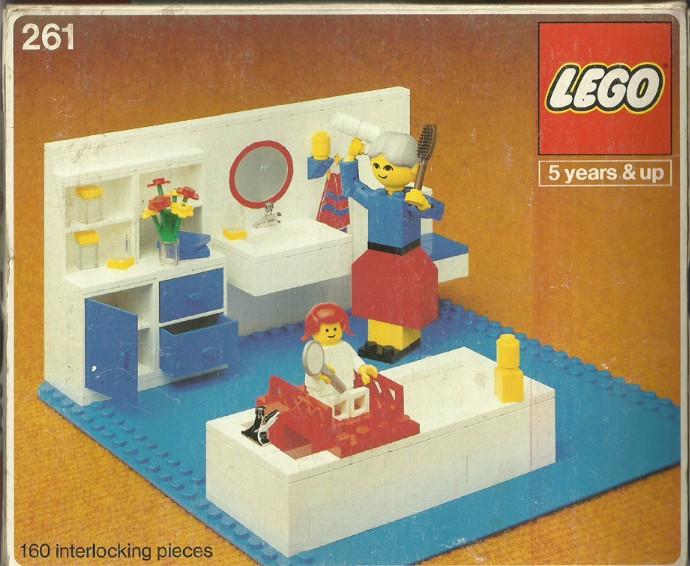 Изображение набора Лего 261 Bathroom