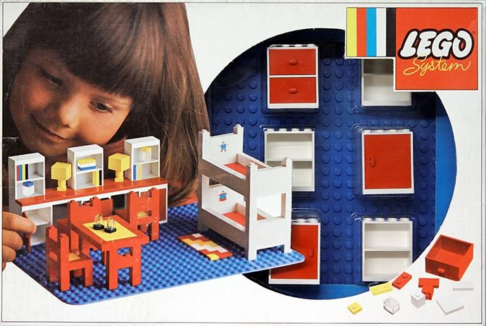 Lego 262 Complete Children's Room Set image