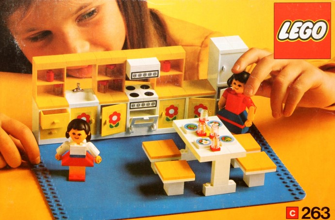 Изображение набора Лего 263 Kitchen