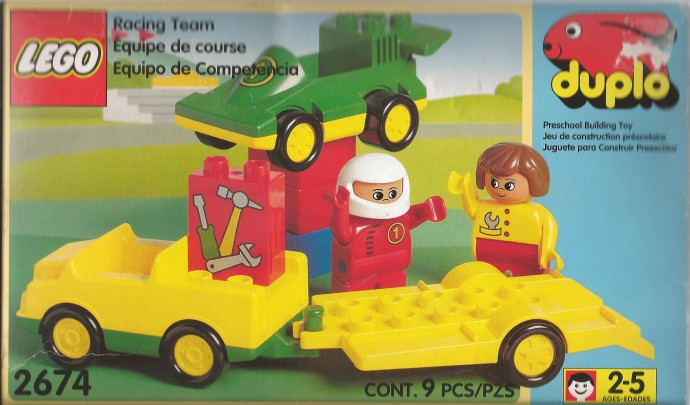 Lego 2674 Racing Team image