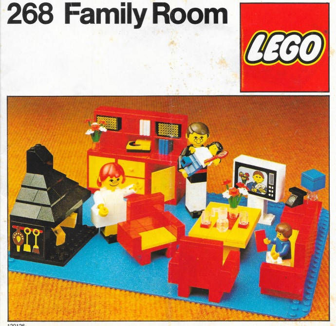 Lego 268 Family Room image