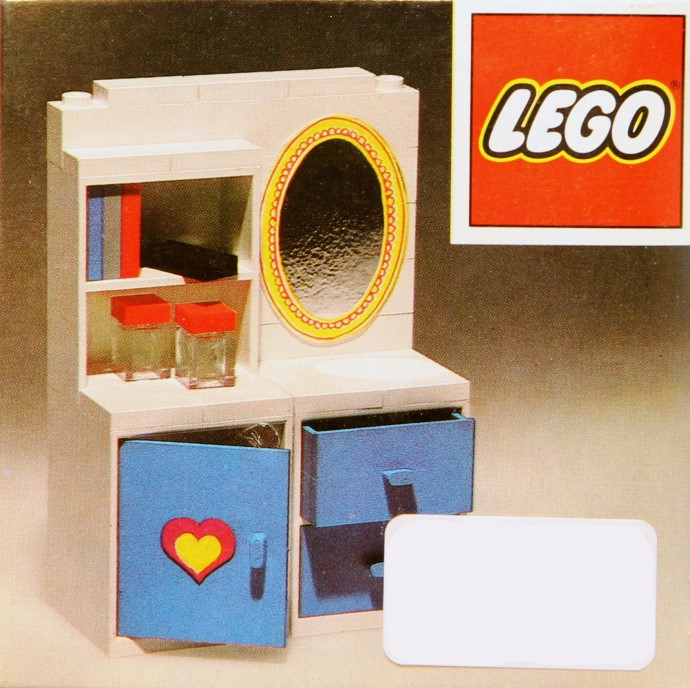 Lego 272 Dressing Table with Mirror image