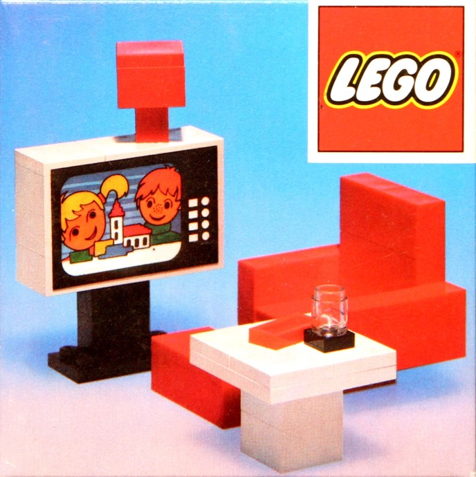 Lego 274 Colour TV and chair image
