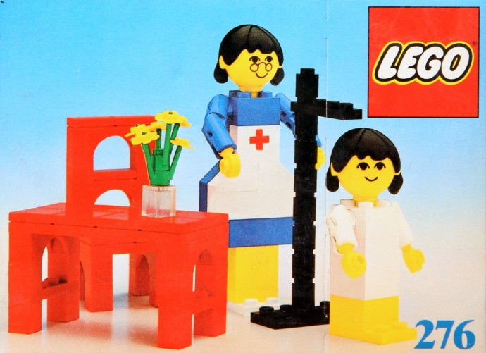 Lego 276 Nurse and Child image