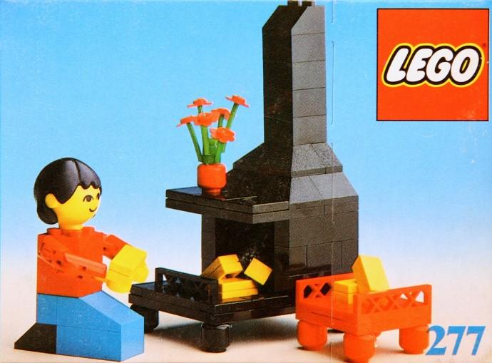 Изображение набора Лего 277 Fireplace