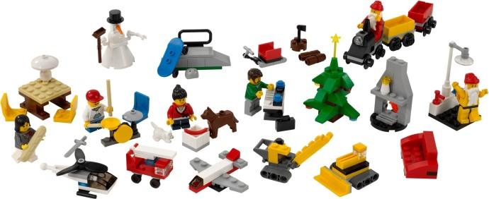 2824 1 City Advent Calendar Brickset Lego Set Guide And Database