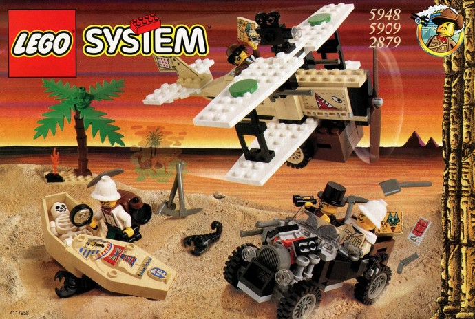 Box art of set 2879 - Desert Expedition